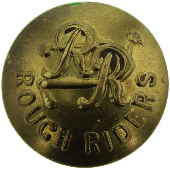 Rough Riders WW1 City of London Yeomanry (Rough Riders) Regiment Tunic Button - 24mm