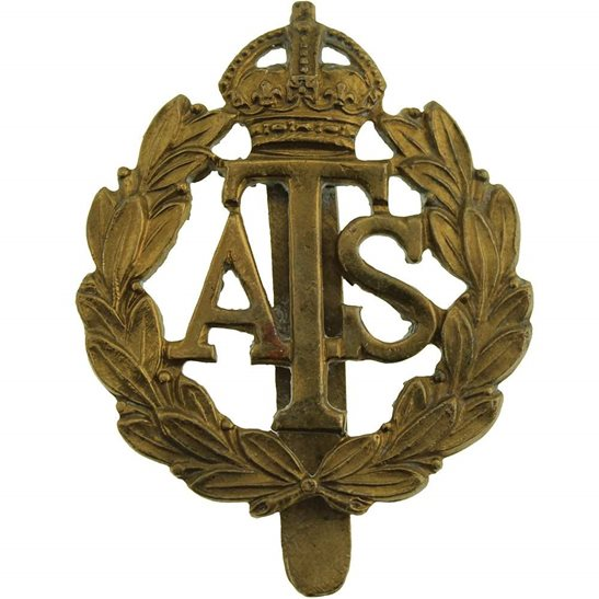Auxiliary Territorial Service ATS WW2 Auxiliary Territorial Service Corps ATS Cap Badge