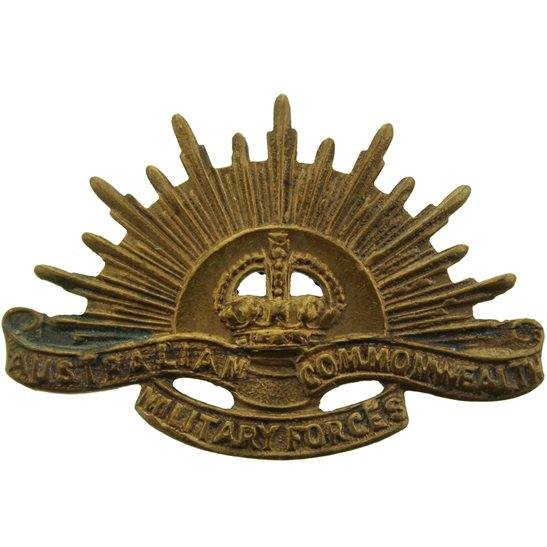 WW1 Australian Army Australian Army Division / Australia Corps Collar Badge