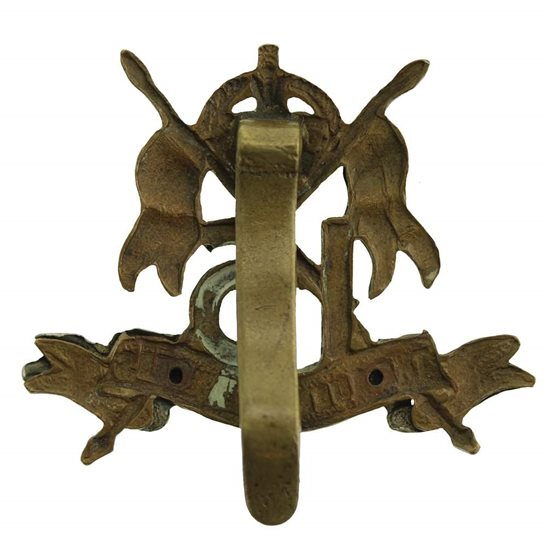 additional image for WW1 16th (The Queens Lancers) Regiment Cap Badge
