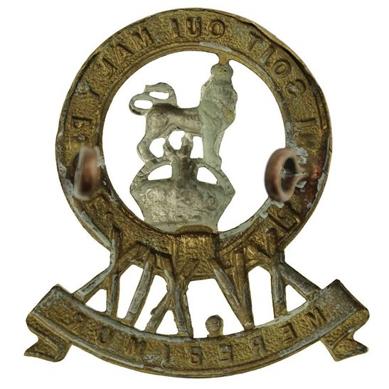 additional image for WW2 15th / 19th The Kings Royal Hussars Regiment King's Cap Badge