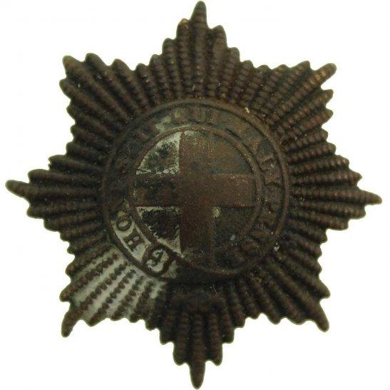 Coldstream Guards UK Dug Detecting Find - WW1 Coldstream Guards Regiment Relic Cap Badge