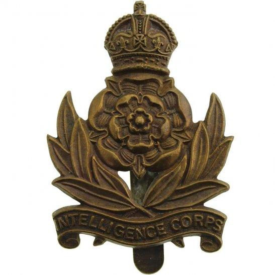 Intelligence Corps WW2 Intelligence Corps Cap Badge