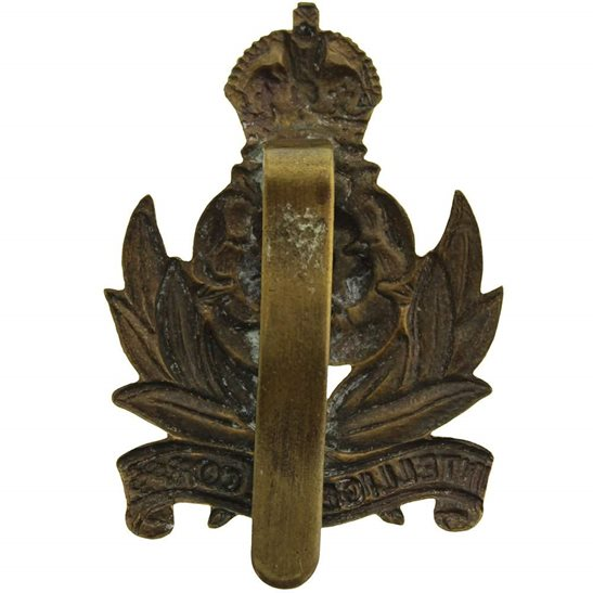 additional image for WW2 Intelligence Corps Cap Badge