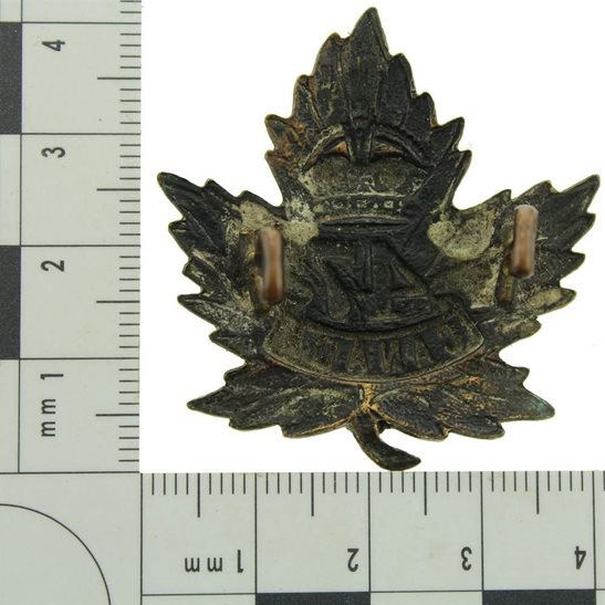 additional image for WW1 Canadian 47th Battalion (British Columbia) Canada CEF Cap Badge