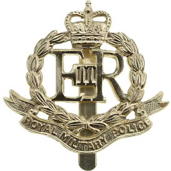 Royal Military Police RMP Royal Military Police Corps RMP Staybrite Anodised Cap Badge - Staybright
