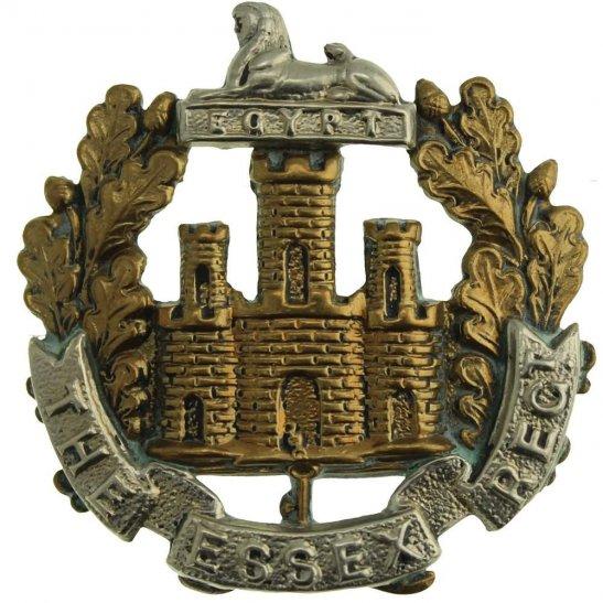 Essex Regiment WW1 Essex Regiment Cap Badge - LUGS VERSION