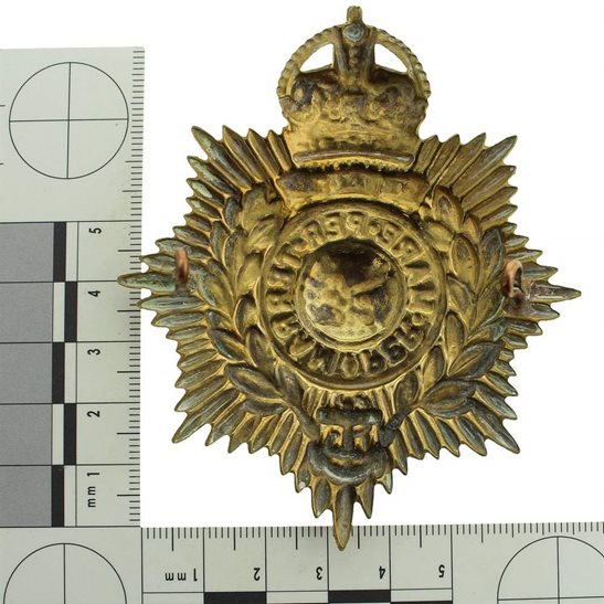 additional image for Royal Marines Corps HELMET PLATE Cap Badge