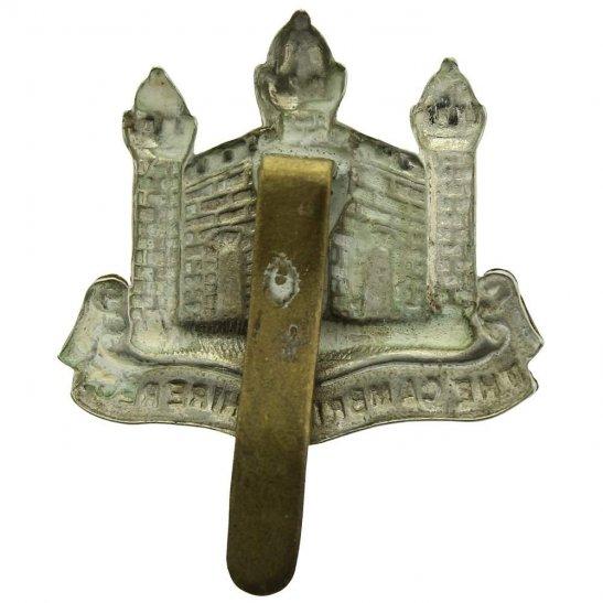 additional image for WW1 Cambridgeshire Regiment Cap Badge