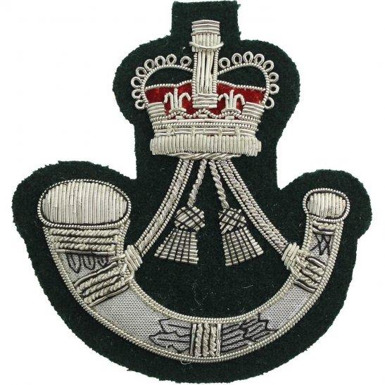 Light Infantry Brigade Regiment Cloth WIRE Bullion Veterans Blazer Badge