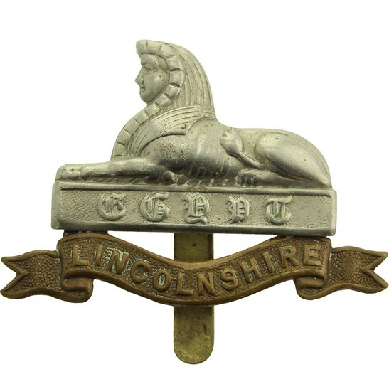 Lincolnshire Regiment Lincolnshire Regiment Cap Badge
