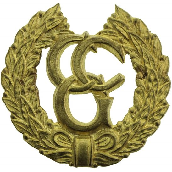WW2 British Control Commission For Germany Cap Badge