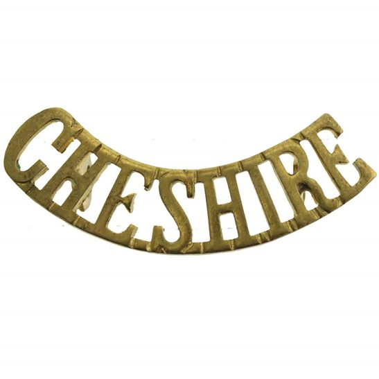 Cheshire Regiment Cheshire Regiment Shoulder Title