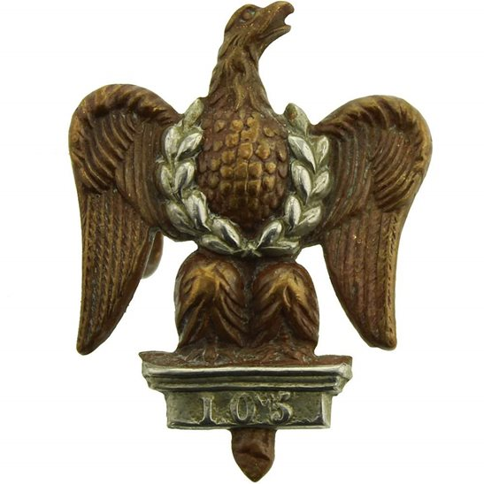 1st Royal Dragoons 1st Royal Dragoons Regiment Collar Badge