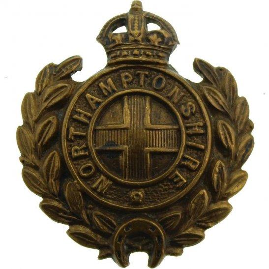 Northamptonshire Regiment Northamptonshire Regiment Collar Badge