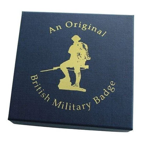 EMPTY / Spare 'AN ORIGINAL BRITISH MILITARY BADGE' Presentation & Gift Box