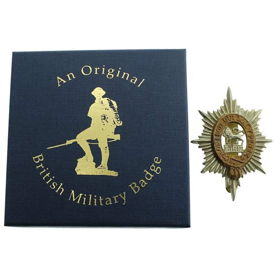 additional image for Worcestershire Regiment Cap Badge in Presentation & Gift Box