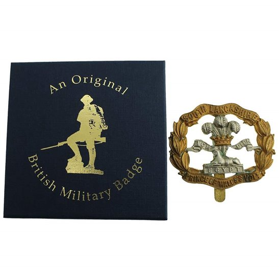 additional image for South Lancashire Regiment Cap Badge in Presentation & Gift Box