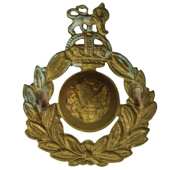 additional image for WW1 Royal Marines Commando Corps Cap Badge