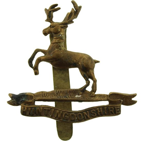 Army Cyclist Corps WW1 Huntingdonshire Cyclist Battalion Army Corps (Cyclists) Cap Badge