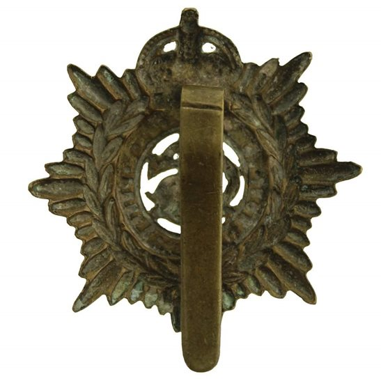 additional image for WW1 Army Service Corps ASC Cap Badge