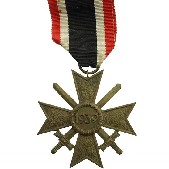 WW2 German Army WW2 1939 German War Medal Cross, Class II