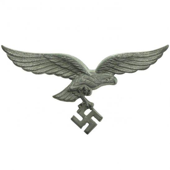WW2 German Army WW2 German Luftwaffe NAZI Eagle Cap Badge