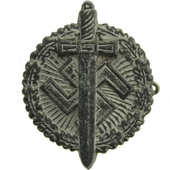 WW2 German Army WW2 German Veteran NAZI Contribution Tinnie Badge