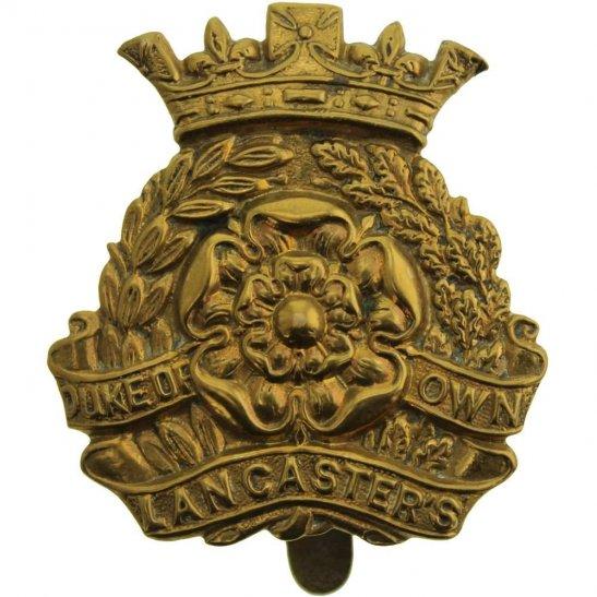 Duke of Lancasters Own Yeomanry Duke of Lancasters Own Yeomanry Regiment (Lancaster's) Cap Badge