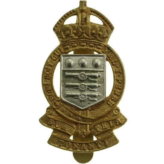 Royal Army Ordnance Corps RAOC WW2 Royal Army Ordnance Corps RAOC Cap Badge - BUTTONS LTD BIRMINGHAM