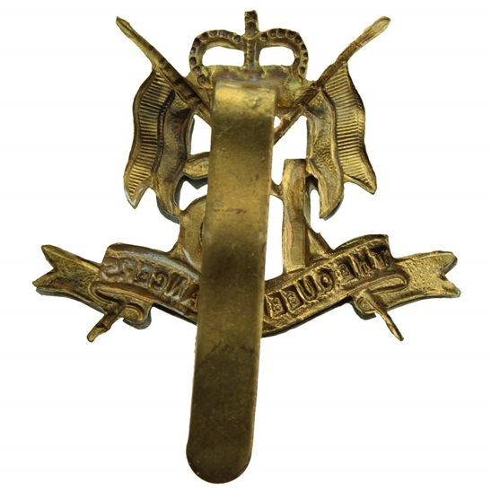 additional image for 16th (The Queens Lancers) Regiment Cap Badge - Queen's Crown