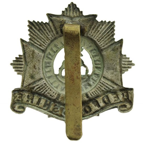 additional image for WW1 Bedfordshire Regiment Cap Badge