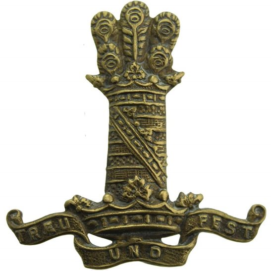 11th Hussars 11th Hussars (Prince Albert's Own) Regiment Cap Badge - EARLY LUG VERSION