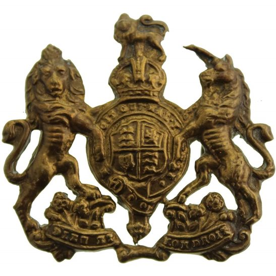 General Service Corps General Service Corps / Regiment Cap Badge - LUG VERSION