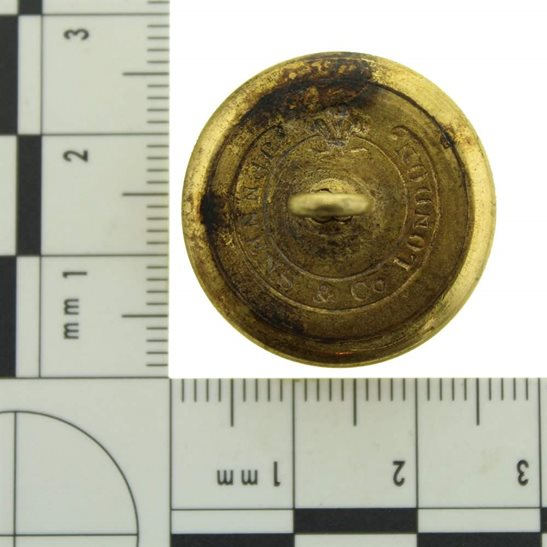 additional image for VICTORIAN 86th Regiment of Foot (Royal County Down) 1855-1881 OFFICERS Irish Tunic Button - 25mm