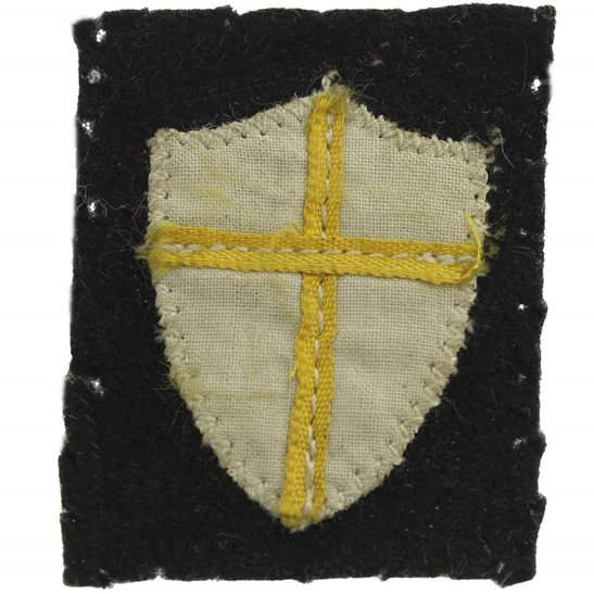 WW2 British Troops in Austria Cloth Formation Sign Patch Badge