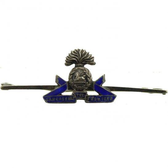 Lancashire Fusiliers Lancashire Fusiliers Regiment STERLING Silver Sweetheart Brooch Badge