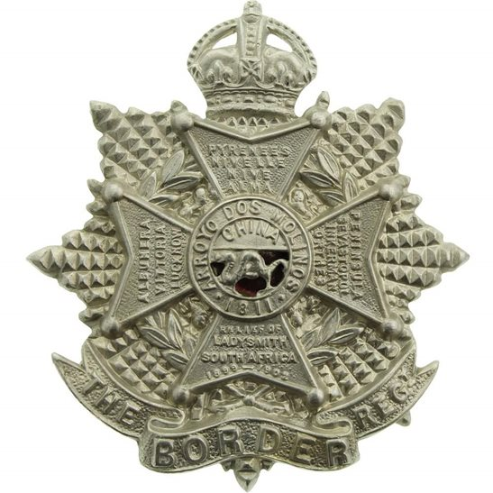 Border Regiment WW1 The Border Regiment Cap Badge