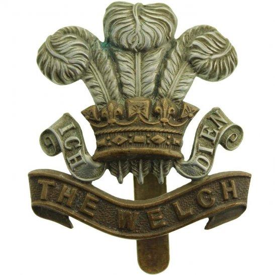 Welch Regiment WW2 Welch Regiment (Welsh) Cap Badge