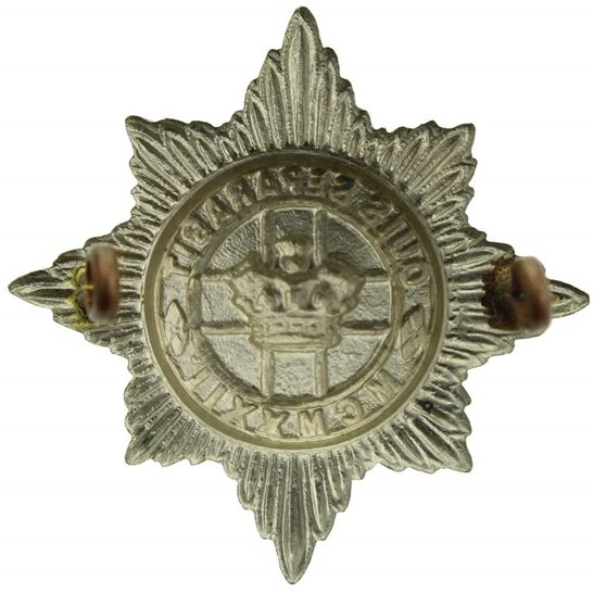 additional image for 4th/7th Royal Dragoon Guards Regiment Cap Badge - LUGS VERSION