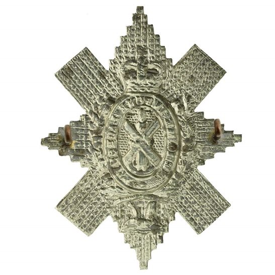 additional image for Royal Highland (Black Watch) Regiment Cap Badge - Queens Crown