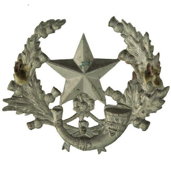 additional image for WW1 The Cameronians (Scottish Rifles) Regiment Cap Badge