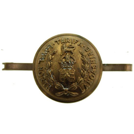 Loyal North Lancashire Loyal North Lancashire Regiment Sweetheart Brooch TRENCH MADE Button Badge