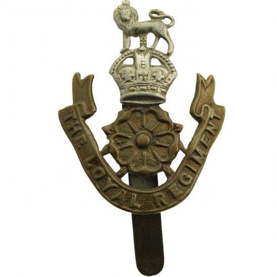 Loyal North Lancashire WW2 Loyal North Lancashire Regiment Cap Badge