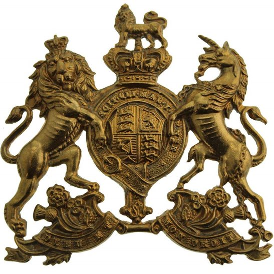 Home Counties Reserve VICTORIAN Home Counties Reserve Regiment Cap Badge
