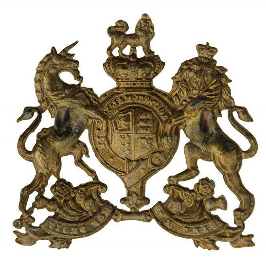additional image for VICTORIAN Home Counties Reserve Regiment Cap Badge