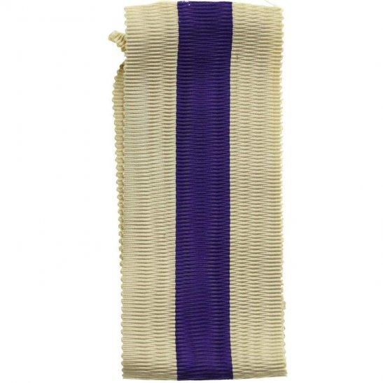 WW1 / WW2 Spare British Military Cross Medal MC SILK Ribbon - Measures 5 Inches