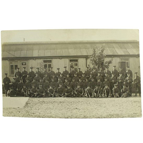 Royal Engineers WW1 Photo Group of Royal Engineers Corps Soldiers