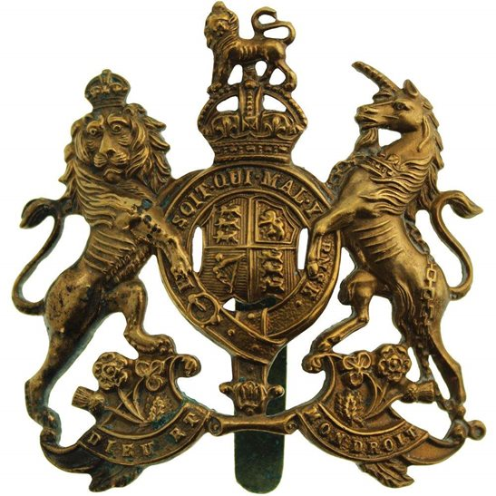 General Service Corps WW1 General Service Corps / Regiment Cap Badge