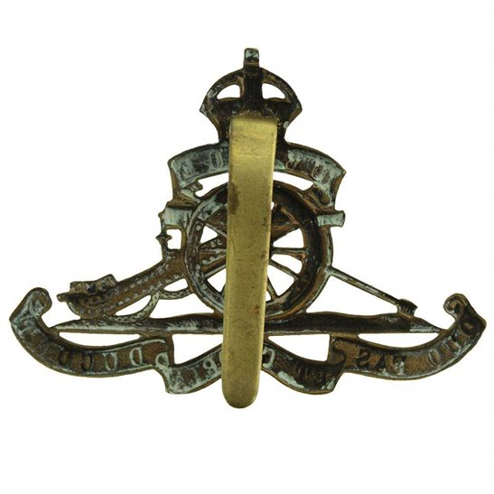 additional image for WW1 Royal Artillery Regiment Cap Badge